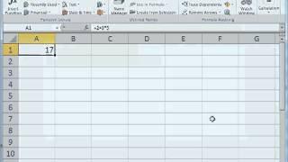 Excel Evaluate Formula