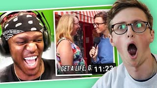 OMG! KSI PUT ME IN A VIDEO - I'M REACTING TO THIS FOR VIEWS