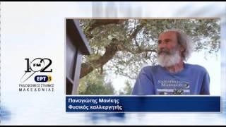Ο Παναγιώτης Μανίκης, Φυσικός καλλιεργητής στον ΡΣΜ της ΕΡΤ3