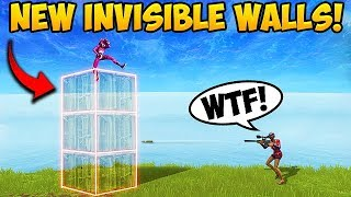 NEW INVISIBLE WALL *TRICK!* - Fortnite Funny Fails and WTF Moments! #269