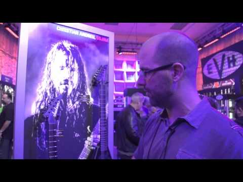 NAMM 2016 - Jackson Guitars - Christian Andreu Signature Model