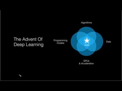 An Overview of AI on the AWS Platform – February 2017 AWS Online Tech Talks