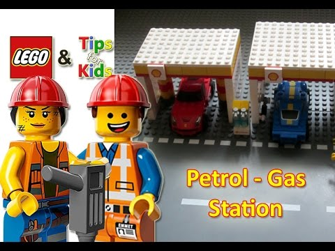 LEGO City - Gas/Petrol Station Shell | Toys for Kids - YouTube
