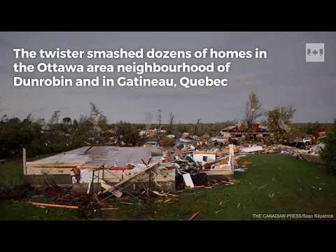 Tornado touches down in Ottawa region