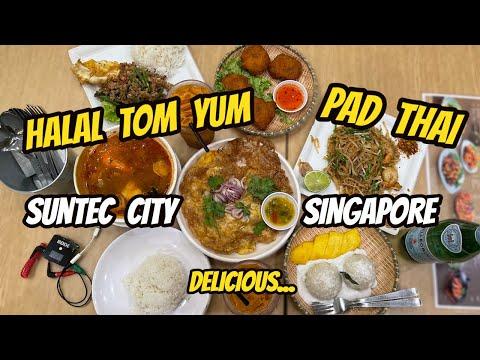 SINGAPORE: HALAL THAI CUISINE @ SANOOK KITCHEN  I  THE LARGEST FOUNTAIN @ SUNTEC CITY (IND/ENG)