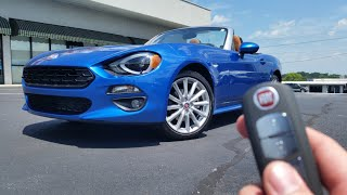 2017 Fiat 124 Spider Prima Lusso (92 of 124): Test Drive, Start Up, Exhuast and Review