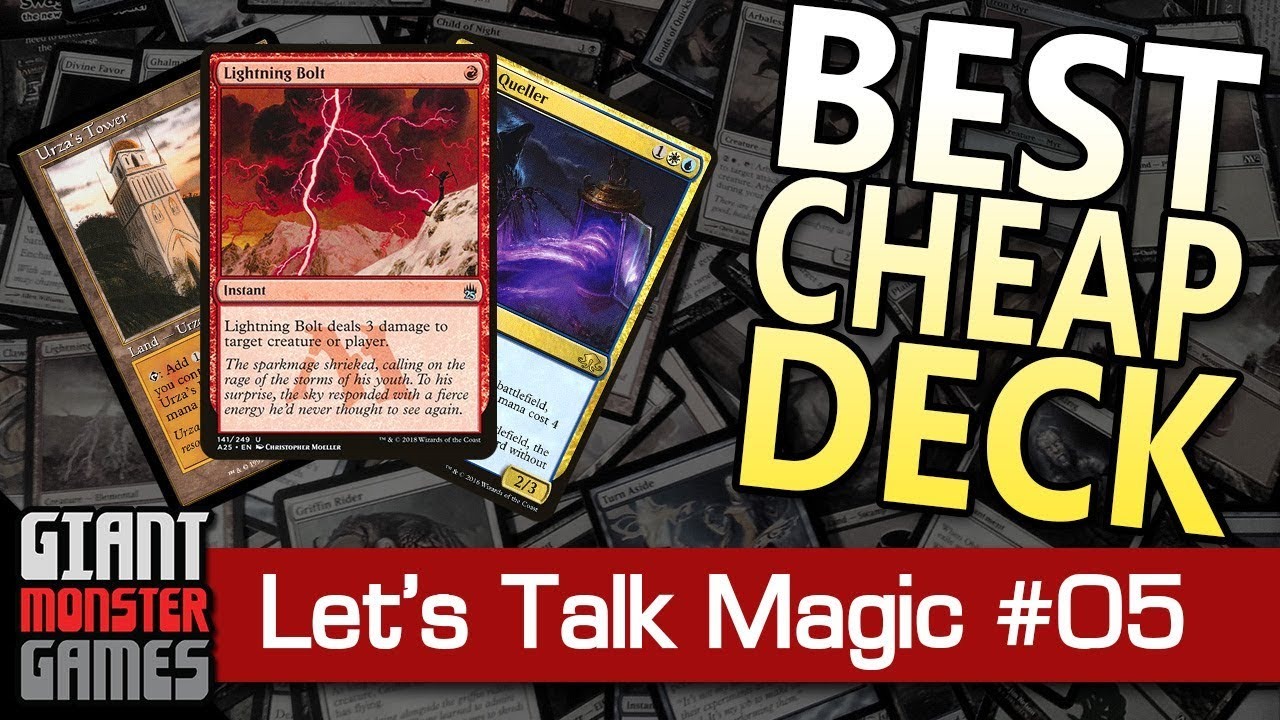 What is the Best, Cheap Deck in Modern? - Let's Talk Magic #5