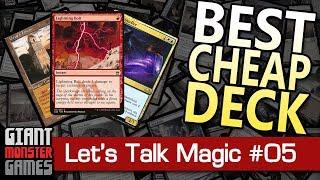 Zapętlaj What is the Best, Cheap Deck in Modern? - Let's Talk Magic #5 | Giant Monster Games
