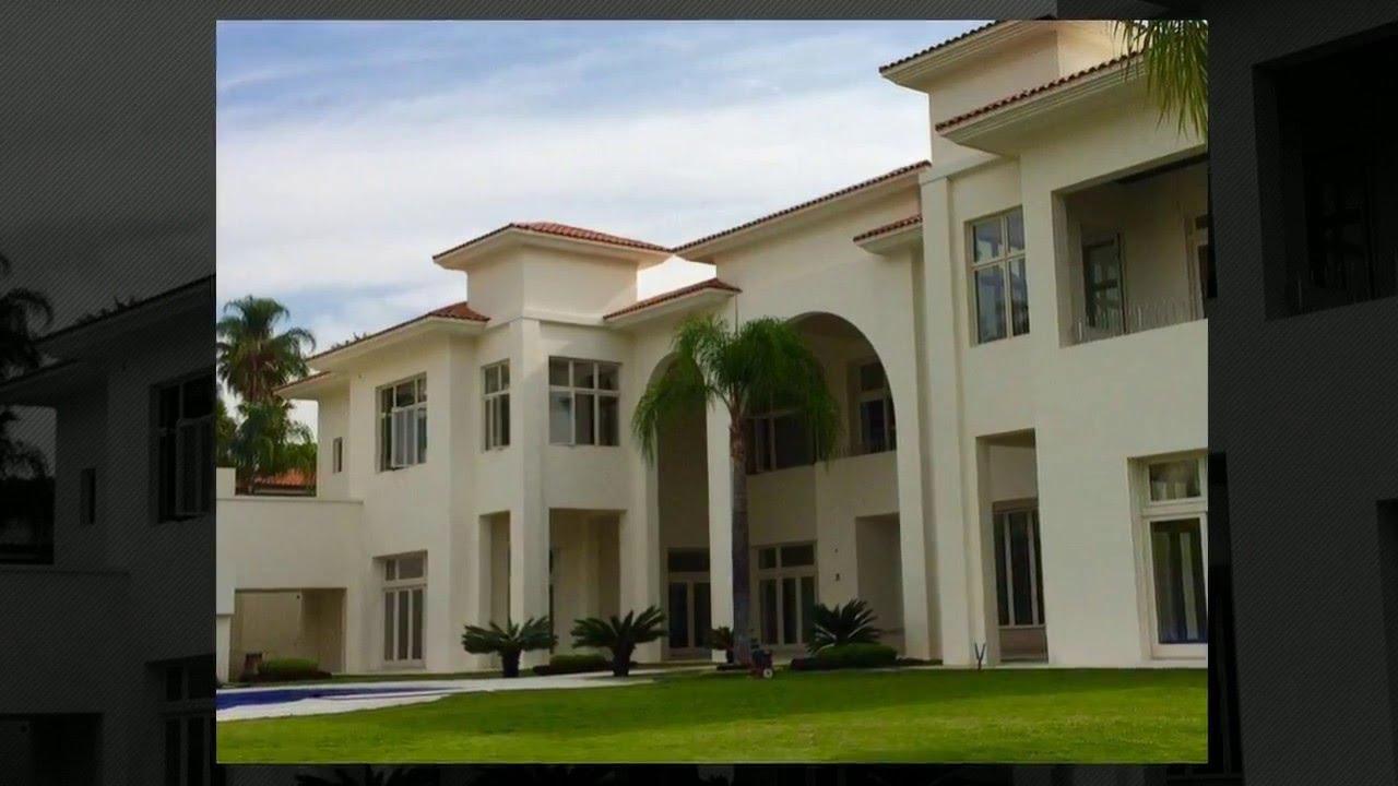 Casa de lujo en puerta de hierro guadalajara youtube for Puertas de casa