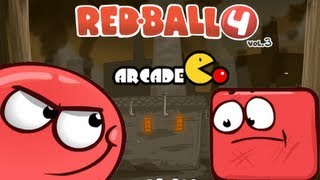 Red Ball 4: Volume 3 Walkthrough Levels 8 - 15