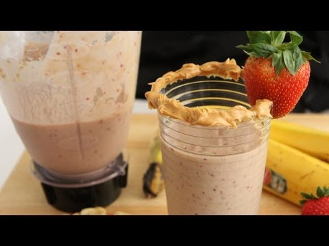 Vegan Protein Shake - Peanut Butter Jelly Smootie - LeanBodyLifeStyle ToneItUp Perfect Fit Protein