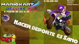 [Mario kart 8 Deluxe] #Hacer Deporte es Sano-Directo Suscriptores- nintendo-Eixit