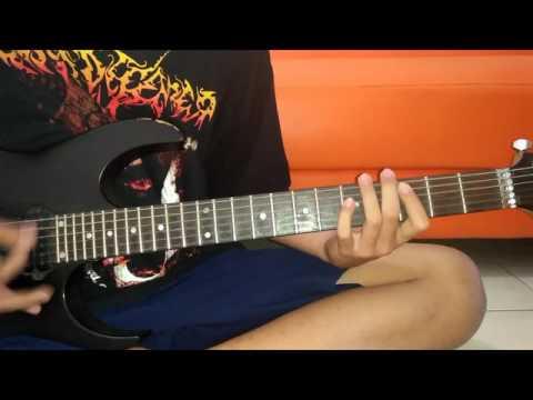 Crewsakan X bata Punk Gitar cover + belajar melodi