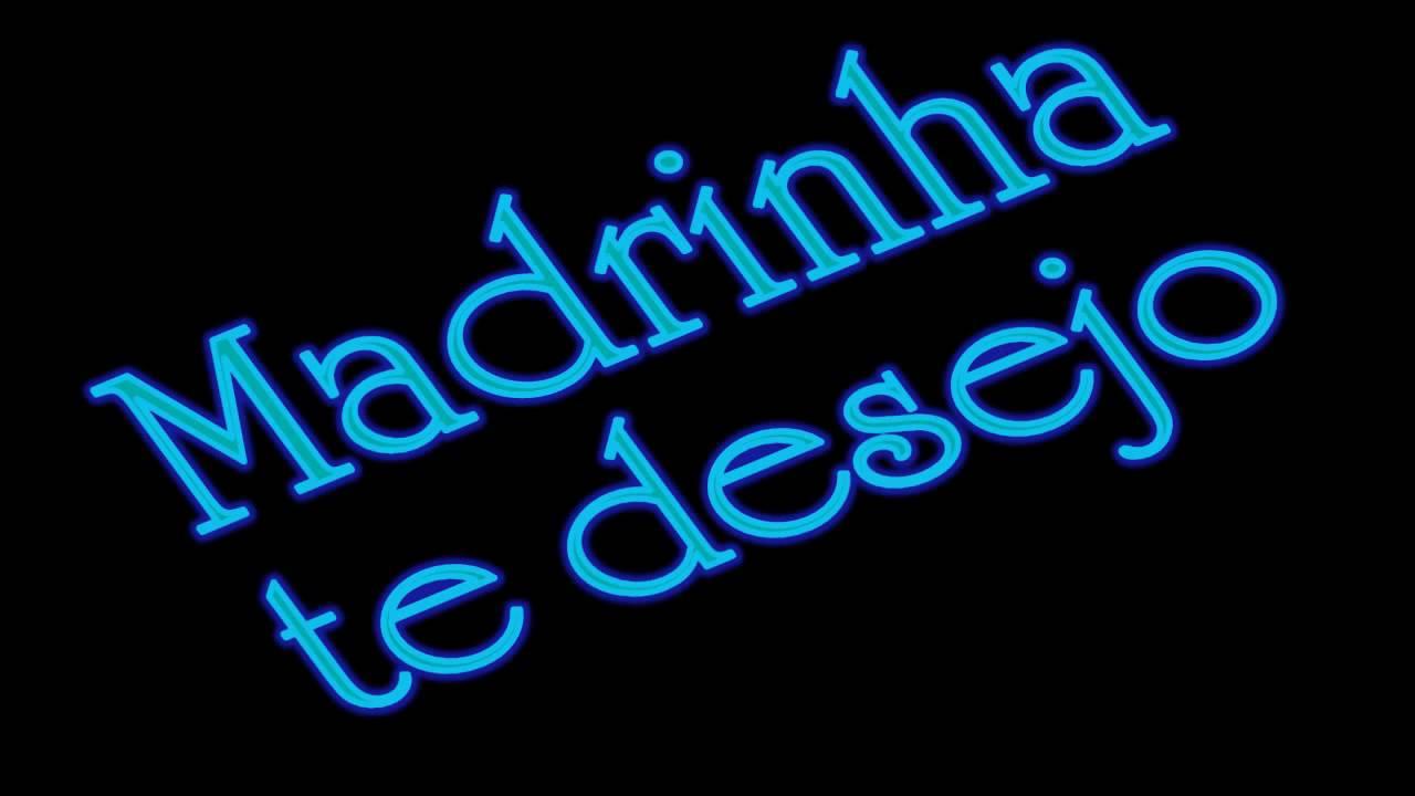 Feliz Aniversario Madrinha: Parabéns Madrinha