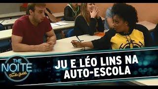 The Noite (19/09/14) - Dois Malucos na Auto-escola - EP01