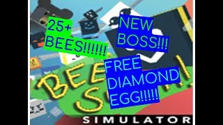 *FREE* DIAMOND EGG!! Roblox Bee Swarm Simulator NEW UPDATE!