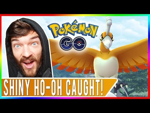 WE GOT SHINY HO-OH NUMBER 7! Pokemon GO Ho-Oh Raids at EX Gyms in San Francisco!
