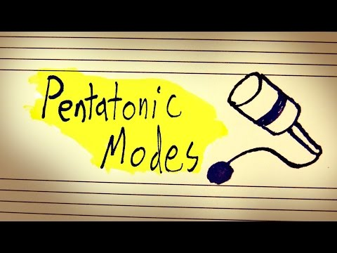 Theory In Practice: Playing With Pentatonic Modes