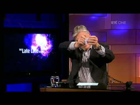 Pat Kenny humiliated on Late Late Show by posh woman