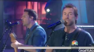 [4.41 MB] NickelBack - 'How You Remind Me' (TODAY LIVE) - 2017
