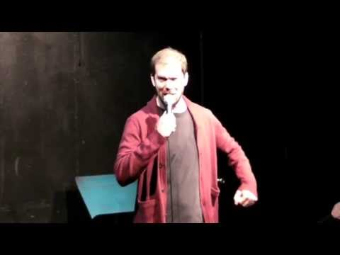 Comedian Matt Ruby live at UCB Theater in Los Angeles