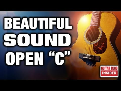 """discover-the-most-beautiful-sound-(open-""""c""""-tuning)"""