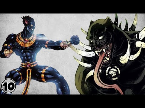 Top 10 Alternate Versions of Black Panther
