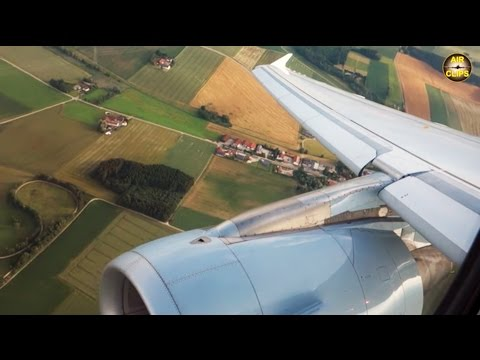 SCENIC BAVARIA! A320ceo landing in beautiful Munich! [AirClips]