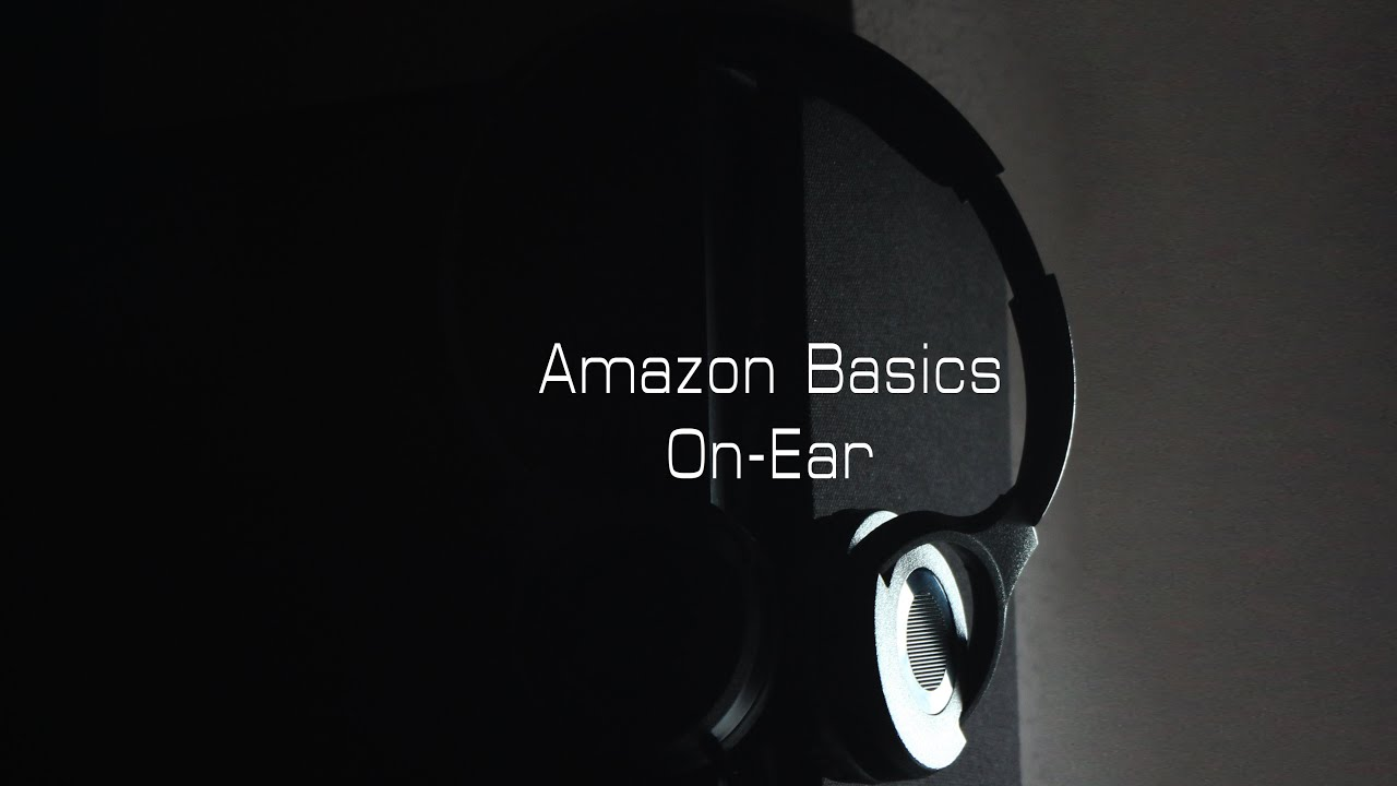 unboxing amazon basics on ear gute 10 kopfh rer youtube. Black Bedroom Furniture Sets. Home Design Ideas