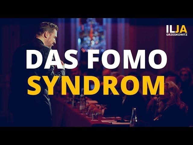 Das FOMO Syndrom - Was ist das und leidest Du darunter?