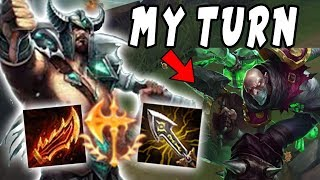 Carrying a Losing Team | Tryndamere vs OPOP? Singed | Depths of Bronze to Diamond Episode