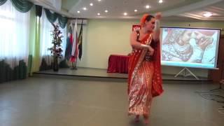 RUBINA. Индийский танец в индийском сари (фрагмент)