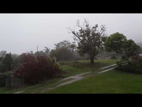 Hurricane Maria: Nevis 2:45pm 19th September 2017