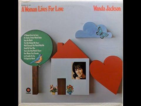 Wanda Jackson - I'd Fight The World (1970).