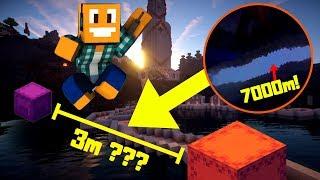 """Mapy od Widzów #182 -  """"Najtrudniejszy skok w Minecraft?!"""""""