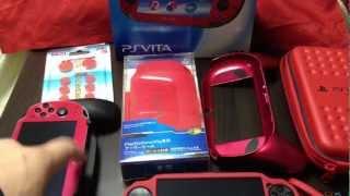 Red PS Vita Accessories
