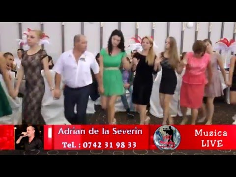 Adrian de la Severin - Nunta Gianina si Dani Nitu - Live 2015 - Hore , Sarbe si Manele