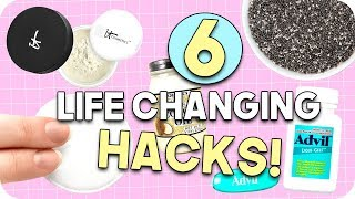 6 Life Changing Life Hacks! Life Hacks for Students!