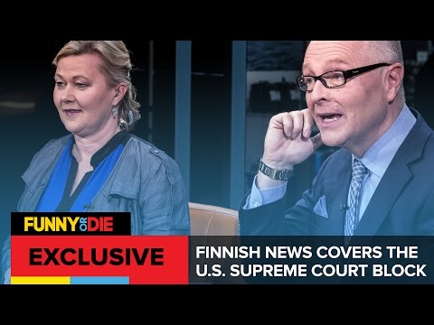 Finnish News Covers the U.S. Supreme Court Block