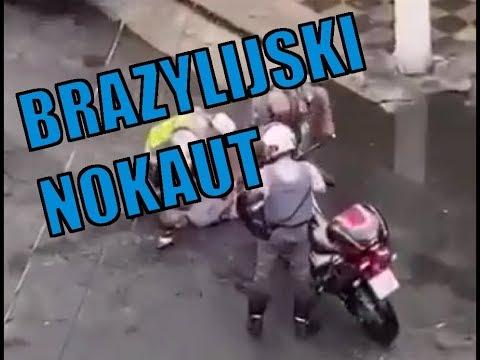 POLICJANT Nokautuje Jednym KOPNIĘCIEM - Czy To Przeszłoby W Polsce? | BRI #6