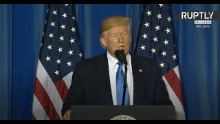 Trump holds final press conference as G20 comes to end