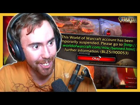Asmongold Gets SUSPENDED From WoW Chat, Calls Blizzard