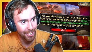 Asmongold Gets Suspended From Wow Chat Calls Blizzard