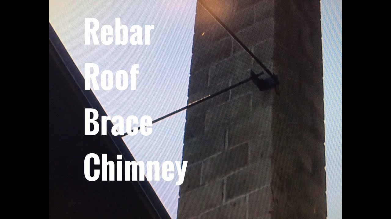 Brick Chimney Brace Rebar Rods Cheap Masonry Roof