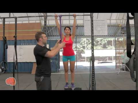 How To Use Resistance Band For Pull Up Progression