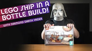NEW Lego Set #21313 Ideas #20 - Leviathan Ship in a Bottle! Timelapse build with DDV
