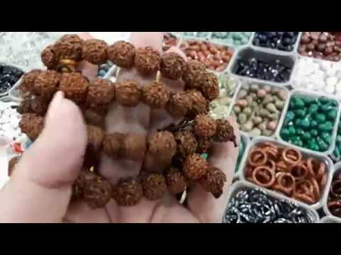 Бусы из складов  Армении Гранат, Яшма , кулоны ,  жемчуг, рудракши, черское стекло.
