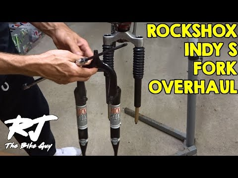 RockShox Indy S Shocks/Fork Service - Disassembly/Clean/Lube/Assembly