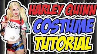 One of Alexa Poletti's most viewed videos: HARLEY QUINN (SUICIDE SQUAD) COSTUME TUTORIAL | Halloween 2015