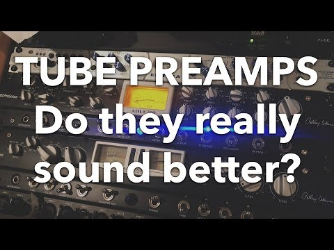 STOCK vs TUBE Preamps